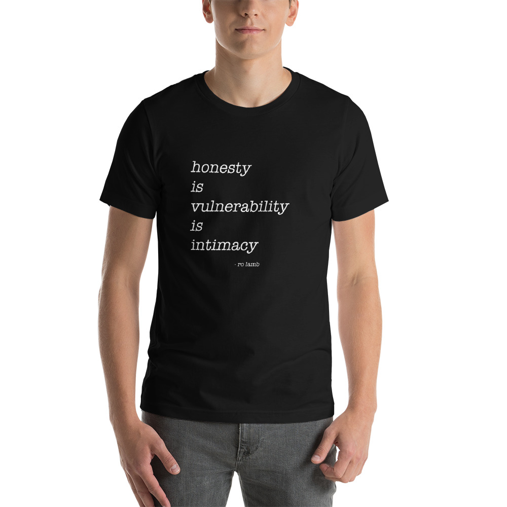Intimacy Short-Sleeve Unisex T-Shirt By Ro Lamb